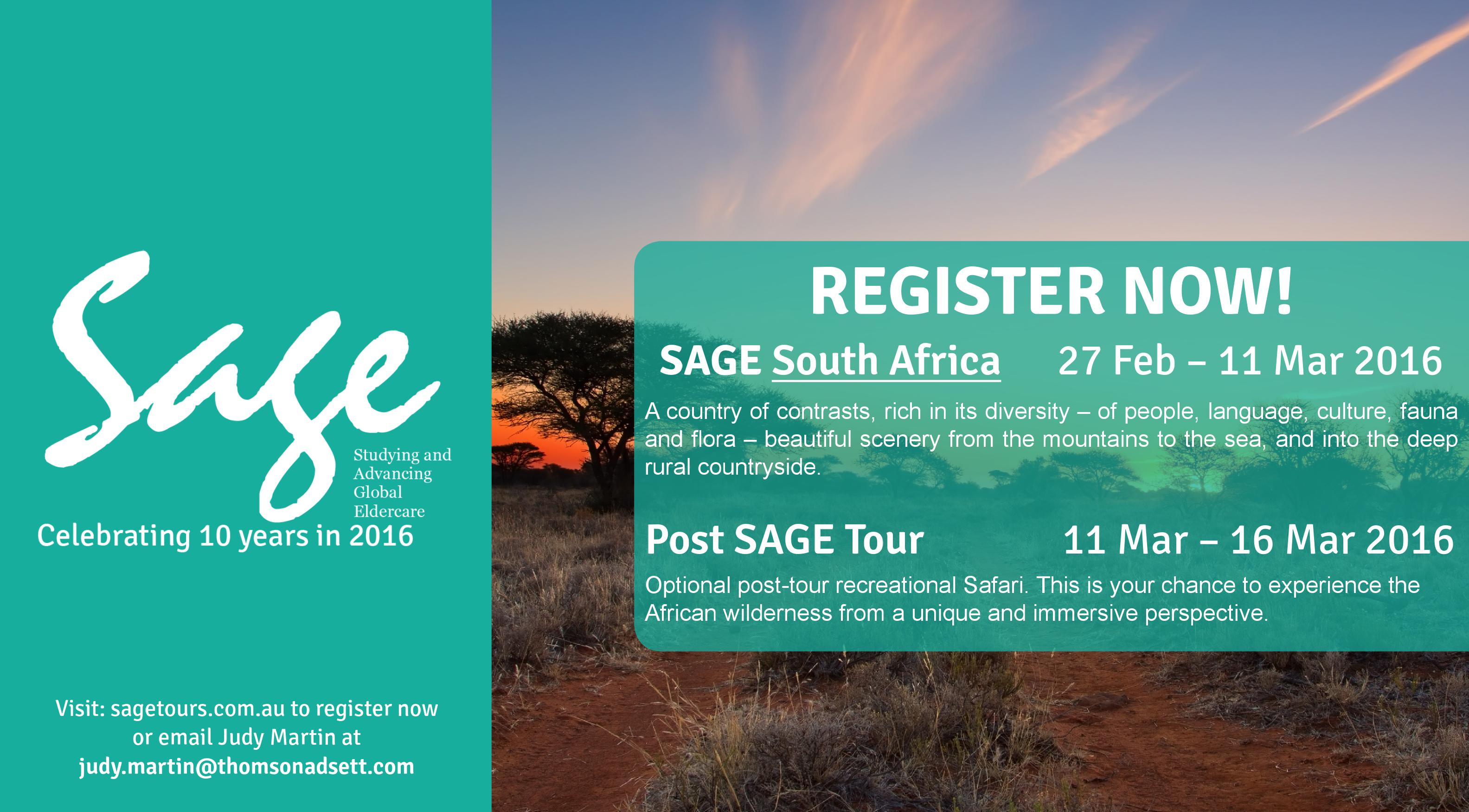 SAGE 2016 South Africa Banner_27Feb-11Mar2016