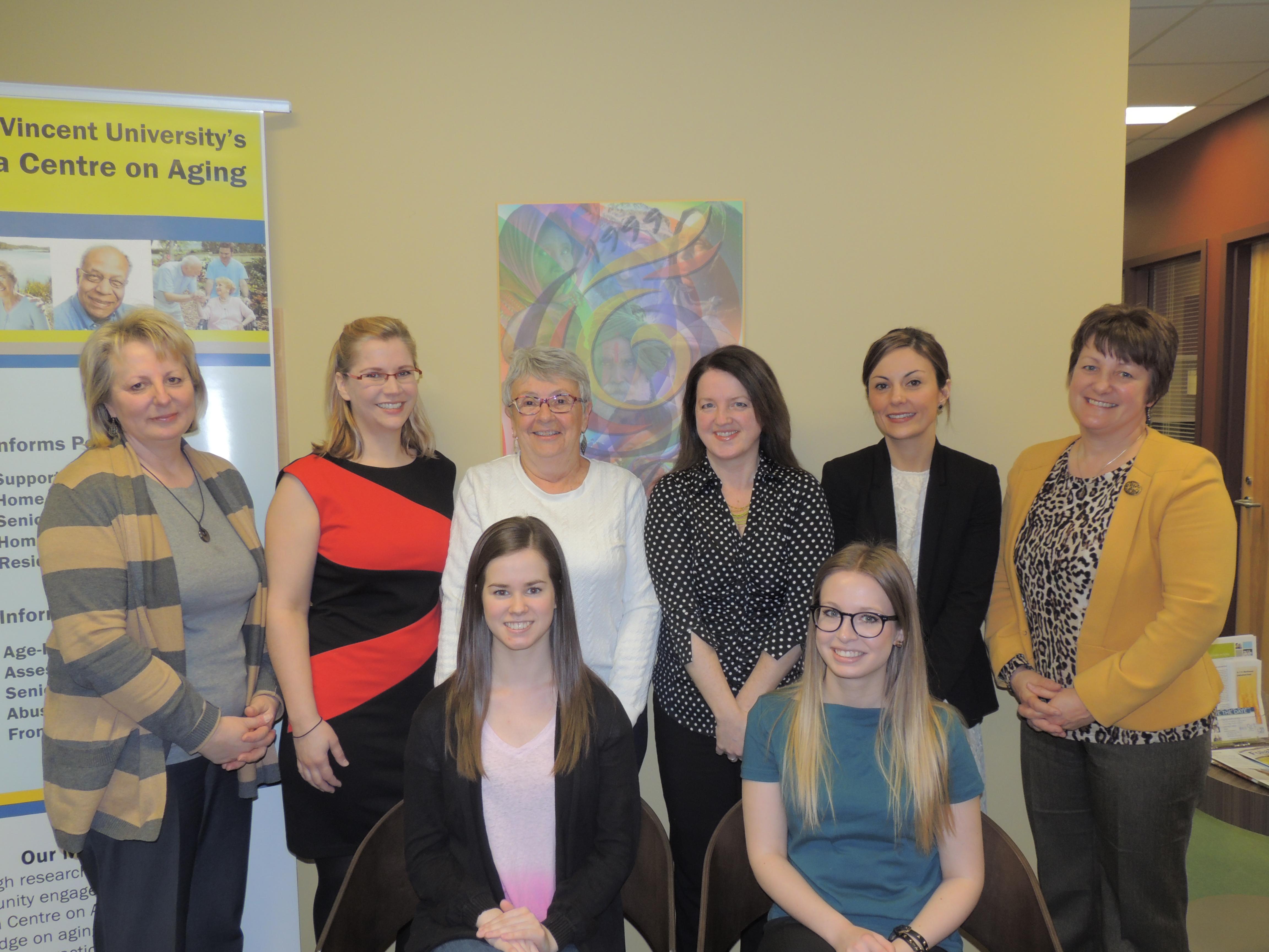 Nova Scotia Centre on Aging (NSCA) group photo